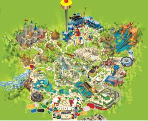 Legoland Malaysia Map