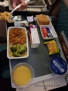 อาหารบนเครื่อง