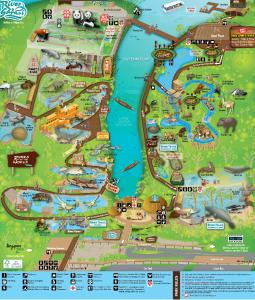 River Safari Map